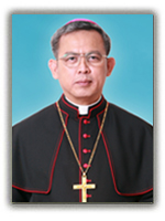 Bishop of Chanthaburi Diocese; President of the Board of Directors